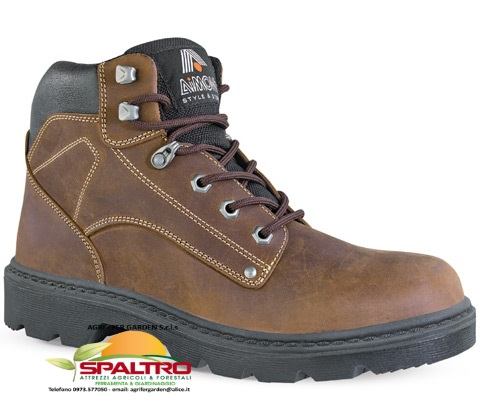 SCARPA ALTA SCOTLAND S3 n°44 Pull-Up Marrone 'AIMONT'